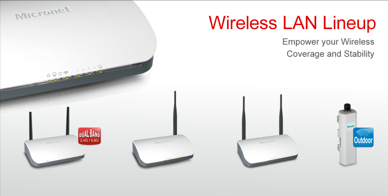 Wireless LAN Lineup